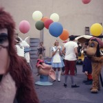 60's Disneyland backstage