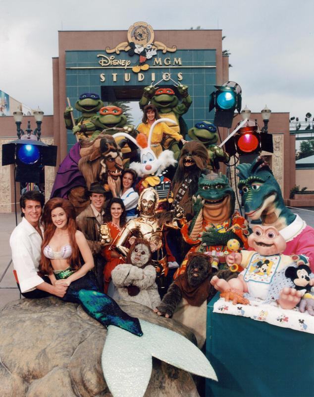 disney mgm studios hollywood studios 1989 opening