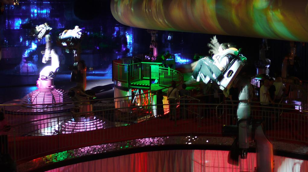 Review les 25 ans du futuroscope le parcorama - Danse avec robots futuroscope ...