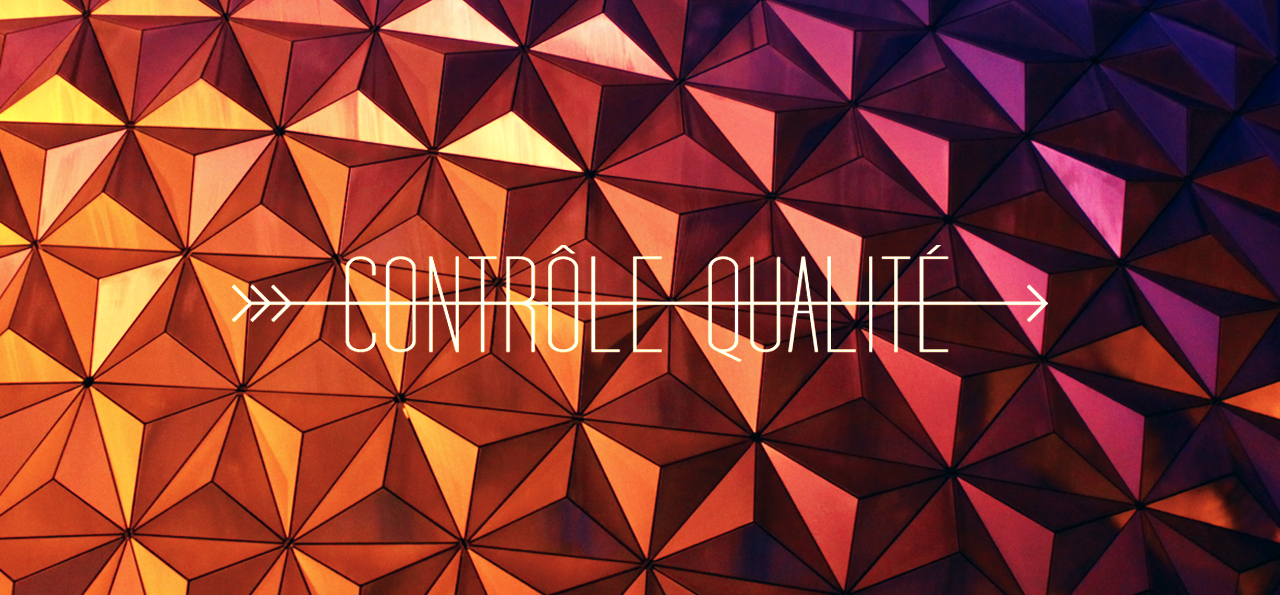 parcorama controle qualité WDW EPCOT center walt disney world spaceship earth