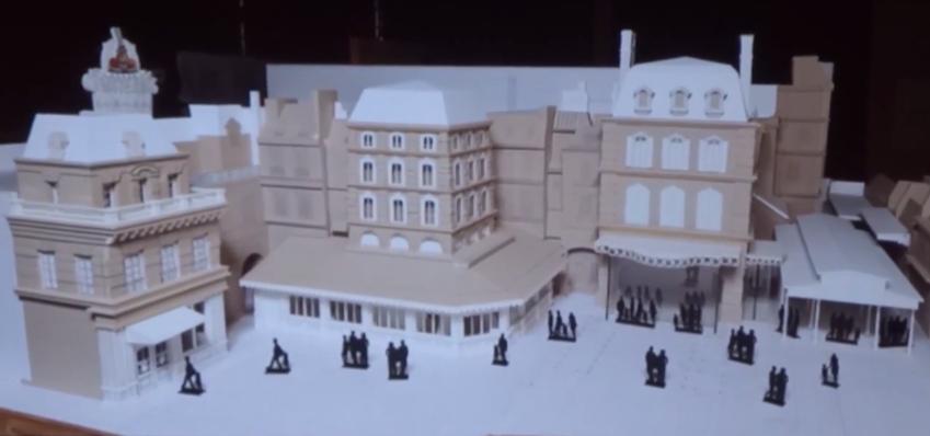 Attraction Ratatouille - The Ride - L'Aventure Totalement Toquée de Rémy Disneyland Paris Walt Disney Studios 2014 maquette model