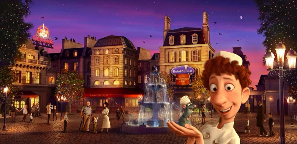 Disneyland Paris reveals new Ratatouille ride details