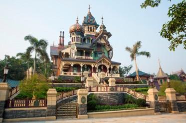 Mystic Manor Hong Kong Disneyland  Mystic Point  Haunted Mansion