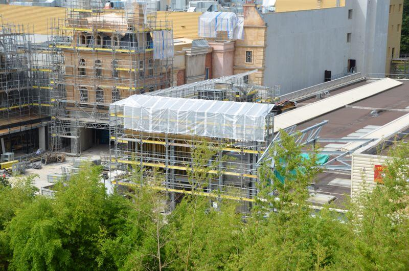 Ratatouille attraction Kitchen Calamity Disneyland Paris august 11