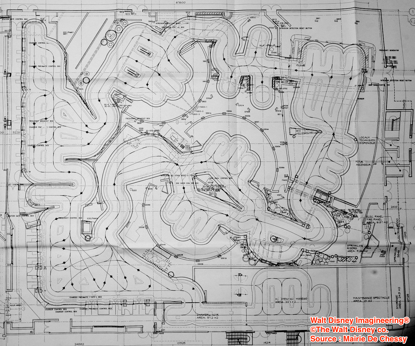 Ratatouille attraction kitchen calamity disneyland paris blueprint ratatouille attraction kitchen calamity disneyland paris blueprint show building layout malvernweather Images
