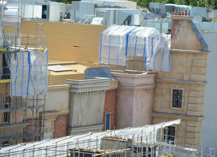 Ratatouille attraction Kitchen Calamity Disneyland Paris july 29