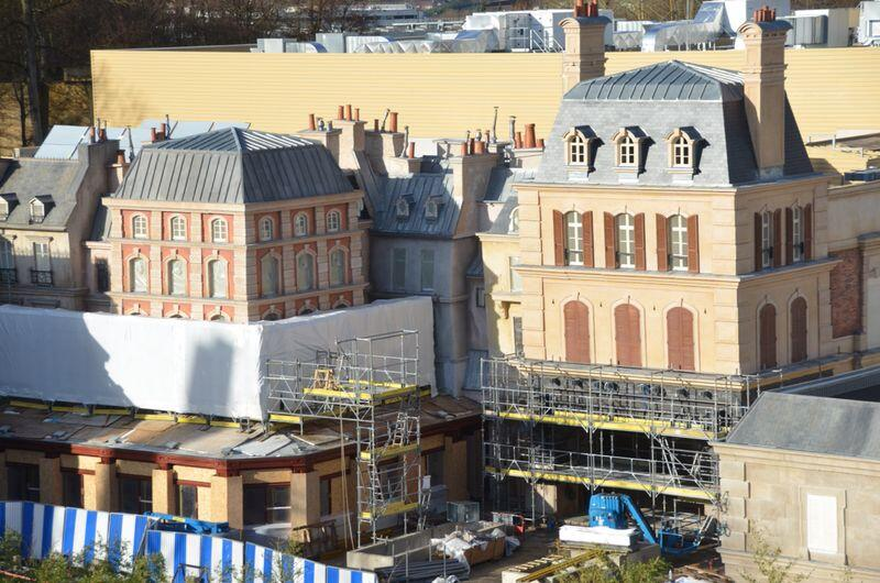 construction Ride Attraction Ratatouille L Aventure Totalement Toquee de Remy Walt Disney Studios Disneyland Paris 2014 Disney Pixar