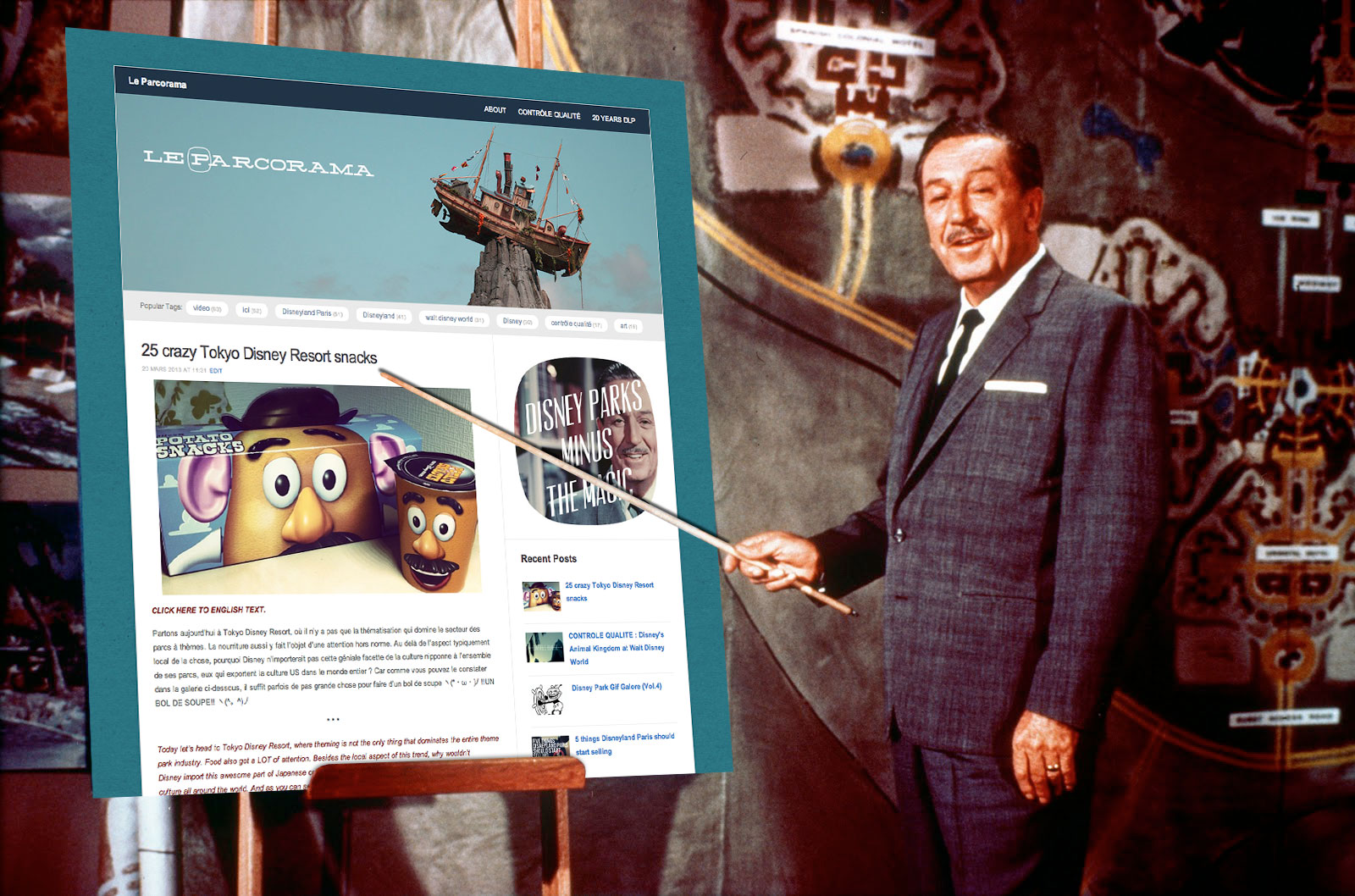 le parcorama blog disney parks minus the magic walt disney
