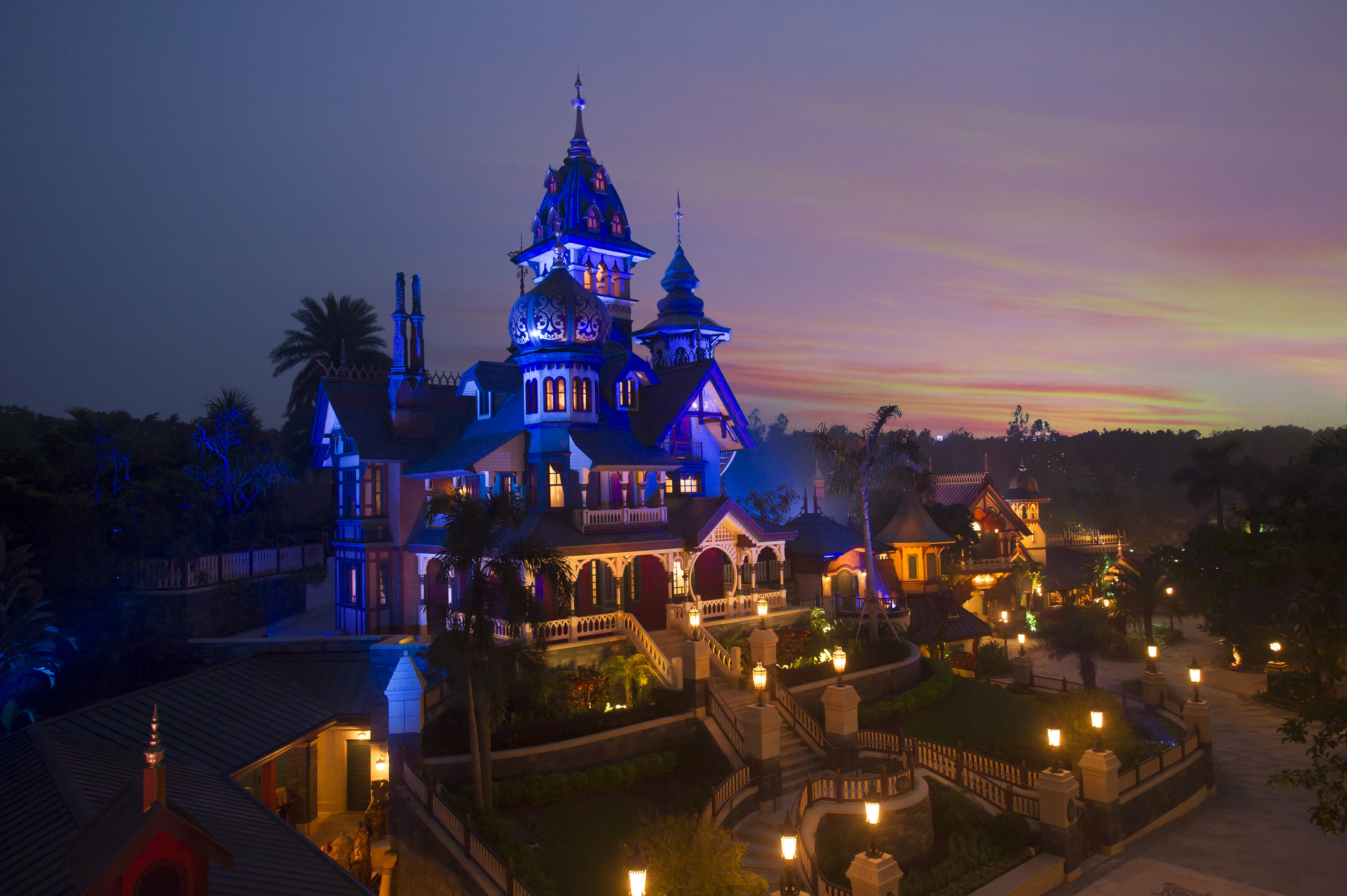 Mystic Manor Mystic Point Hong Kong Disneyland
