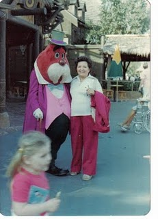 creepy disney park character