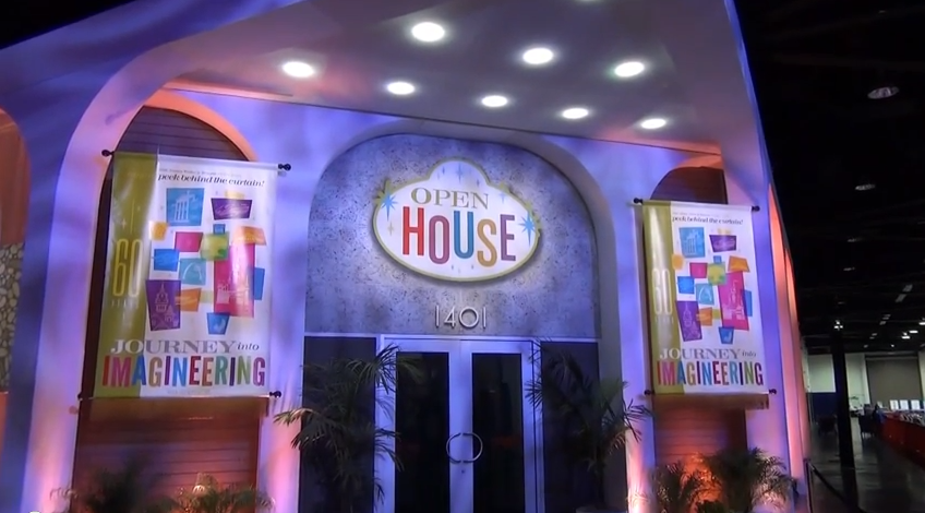 D23 expo 2013 - journey into imagineering pavillion video