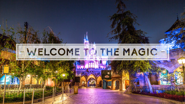 disneyland video time lapse welcome to the magic