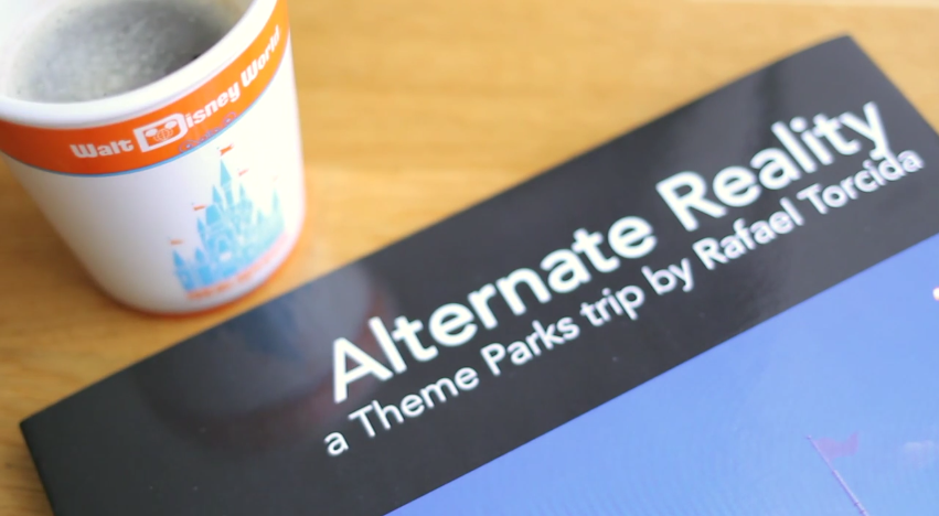 'Alternate Reality' book is a fan-made compilation of stunning theme park pictures