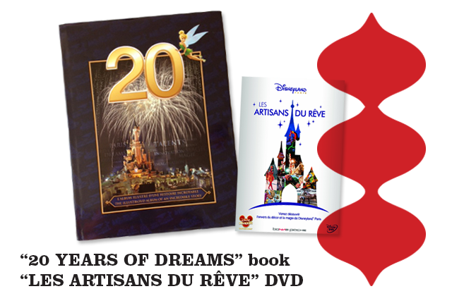 20-ans-de-rêves-disneyland-paris-20-years-of-dreams-book-20-les-artisans-du-rêve-DVD-