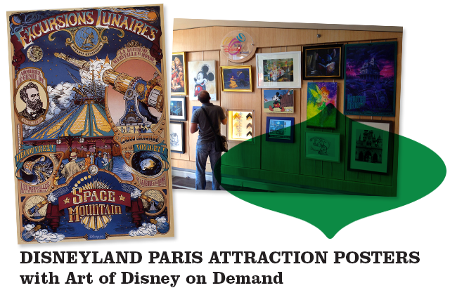 acheter buy DISNEYLAND-PARIS-ATTRACTION-POSTERS-with-Art-of-Disney-on-Demand-
