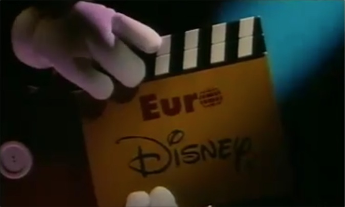 euro disney publicite disneyland paris commercial cast members