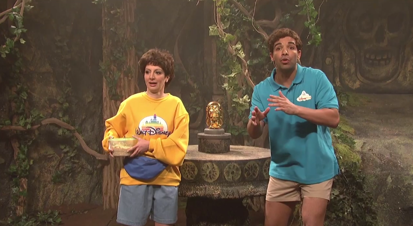 VIDEO : Saturday Night Live sketch makes fun of Walt Disney World