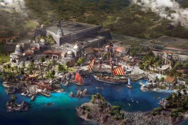 shanghai disneyland pirates of the caribbean treasure cove artwork