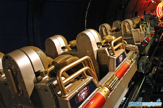 space mountain train
