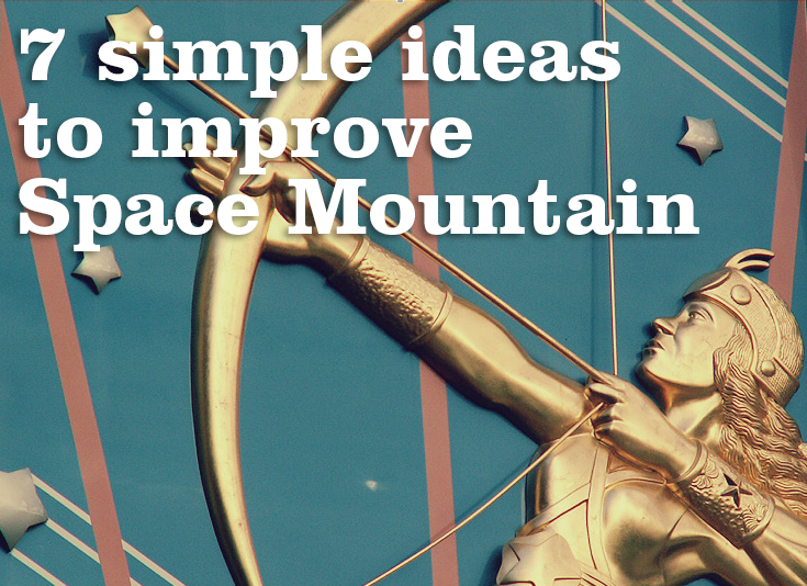 7 simple ideas to improve Disneyland Paris' Space Mountain