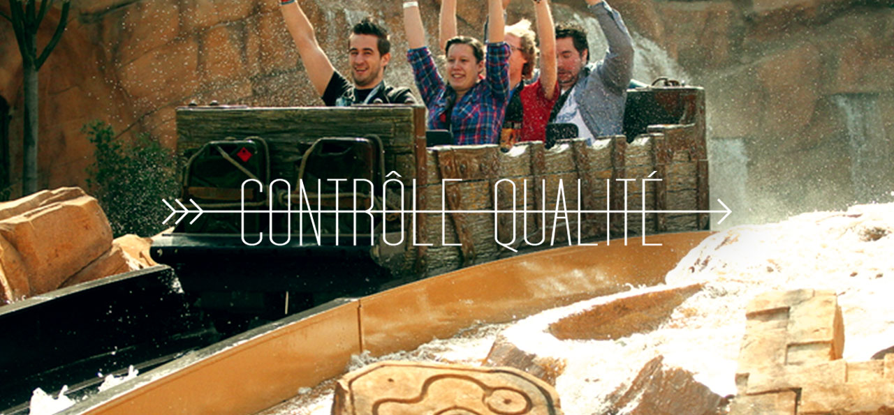 CONTROLE QUALITE : Chiapas at Phantasialand
