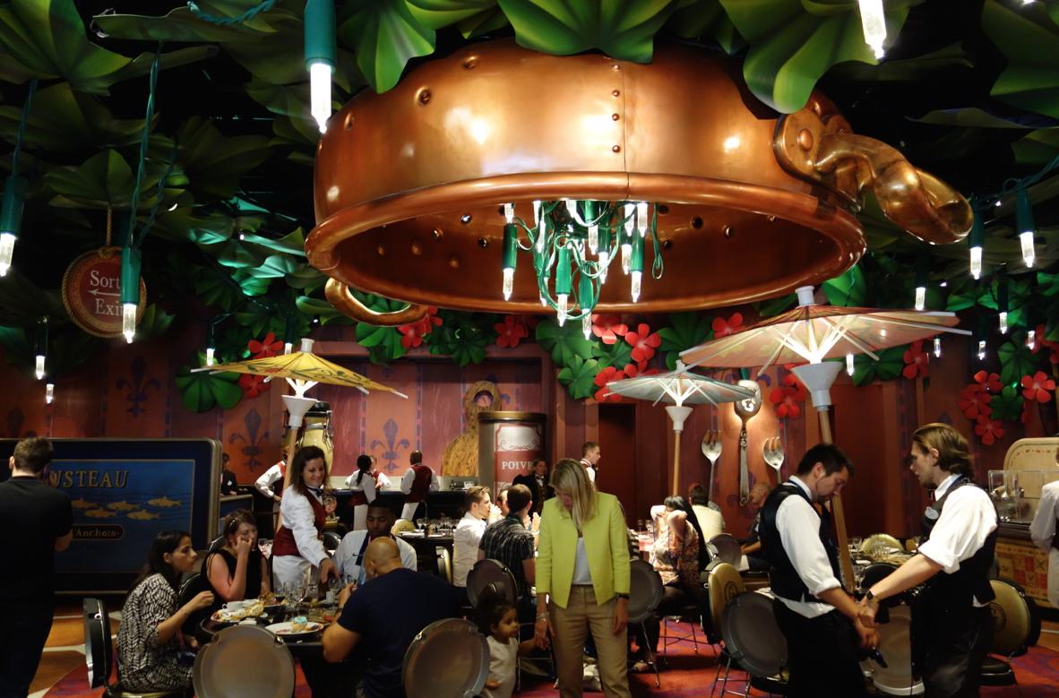 Restaurant Chez Remi Disneyland