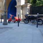 Ratatouille the adventure place de remy land totalement toquée de remy disneyland paris walt disney studios review Colette Vespa motorcycle