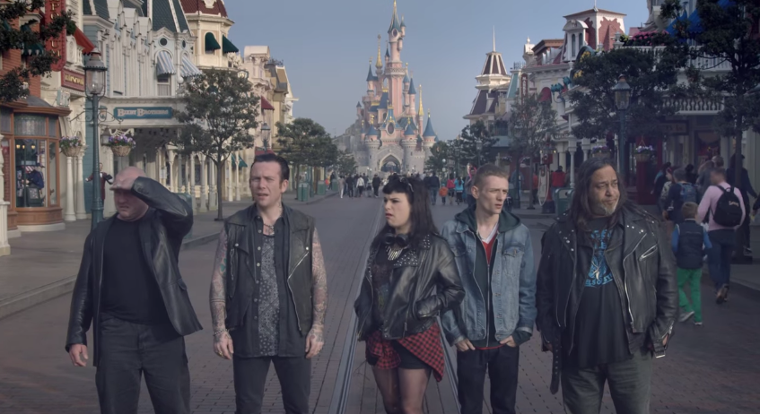 New ads show Disneyland Paris is also for adults