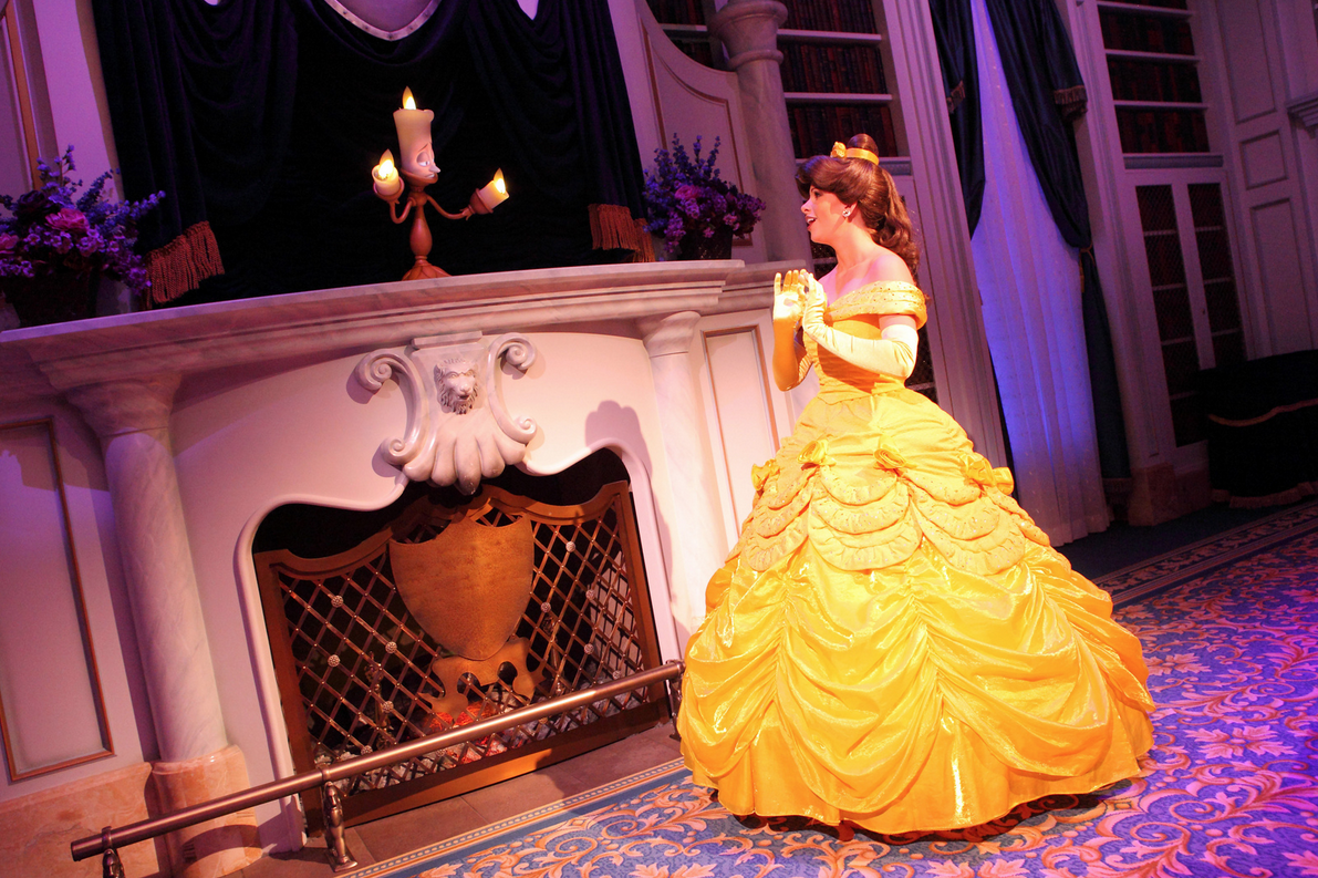 enchanted tales with belle meet n greet walt disney world