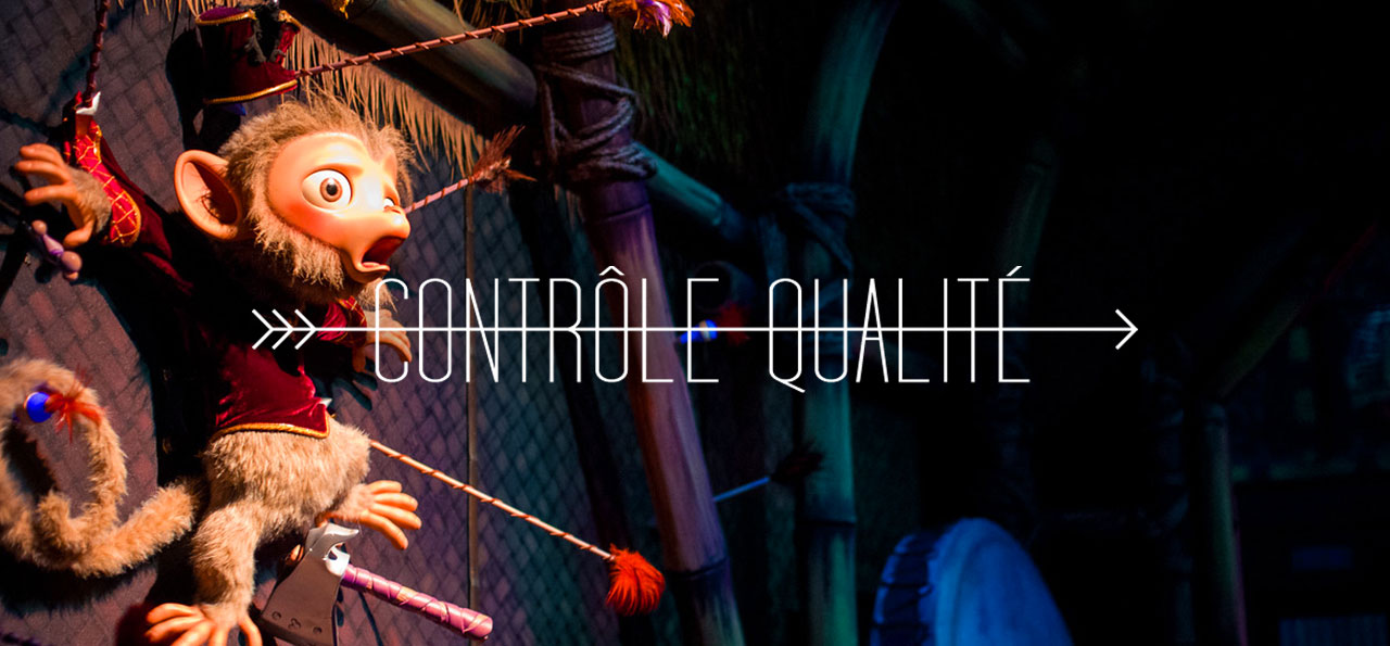 CONTROLE QUALITE : Hong Kong Disneyland feat. Mystic Manor