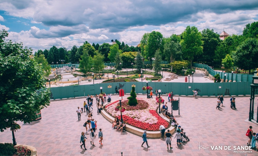Green walls invaded Disneyland Paris these past years. Photo: Kris Van De Sande