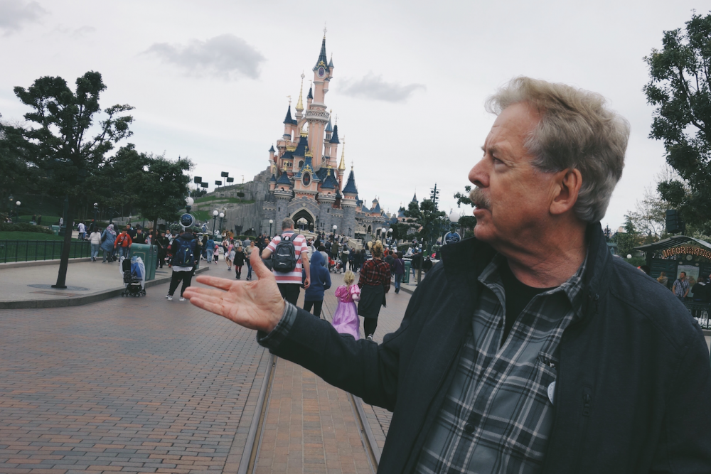 tony baxter tour of disneyland paris 25th anniversary
