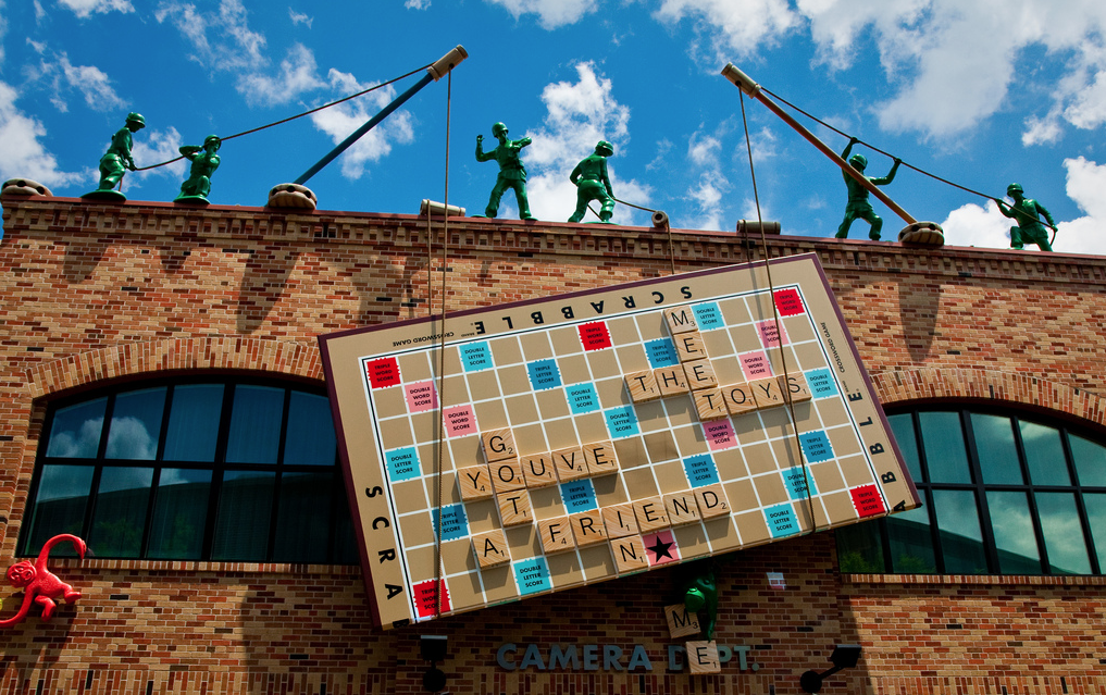 walt disney world disney's hollywood studios pixar place toy story midway mania
