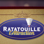 Disneyland Paris Ratatouille l'attraction walt disney studios logo