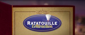 Disneyland Paris Ratatouille l'attraction walt disney studios logo
