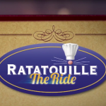 Disneyland Paris Ratatouille the ride walt disney studios logo