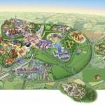 plan map Attraction Ratatouille The Adventure L'aventure totalement toquée de remy Disneyland Paris Walt Disney Studios 2014