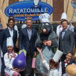 Ratatouille the adventure totalement toquée de remy disneyland paris walt disney studios opening ceremony ouverture CEO bob iger tom staggs PDG philippe gas