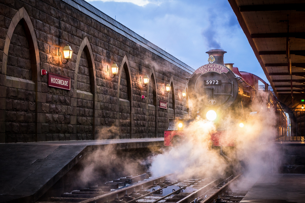 wizarding world of harry potter diagon alley hogwarts express